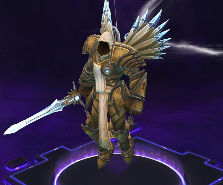Screenshot de Tyraël dans Heroes of the Storm.