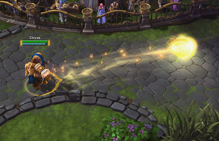 Screenshot de Uther dans Heroes of the Storm.