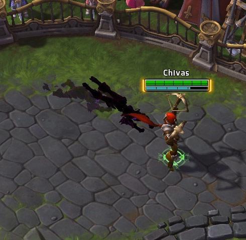 Screenshot de Valla dans Heroes of the Storm.