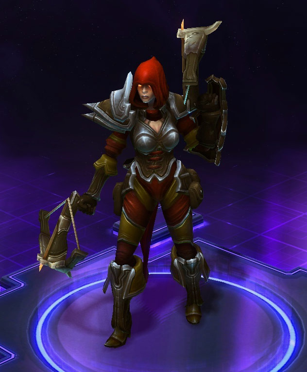 Screenshot de Valla dans Heroes of the Storm.