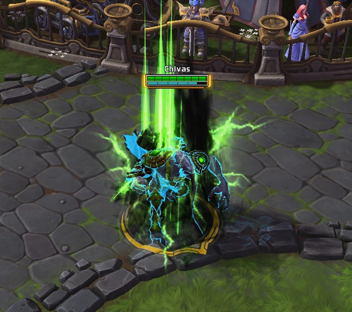 Screenshot de Zeratul dans Heroes of the Storm.